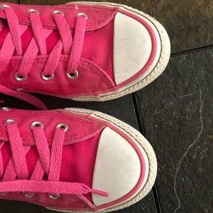1b56c824c905 Converse Shoes - Chuck Taylor Side Zip Hi-Top Berry Pink Sneaker 3